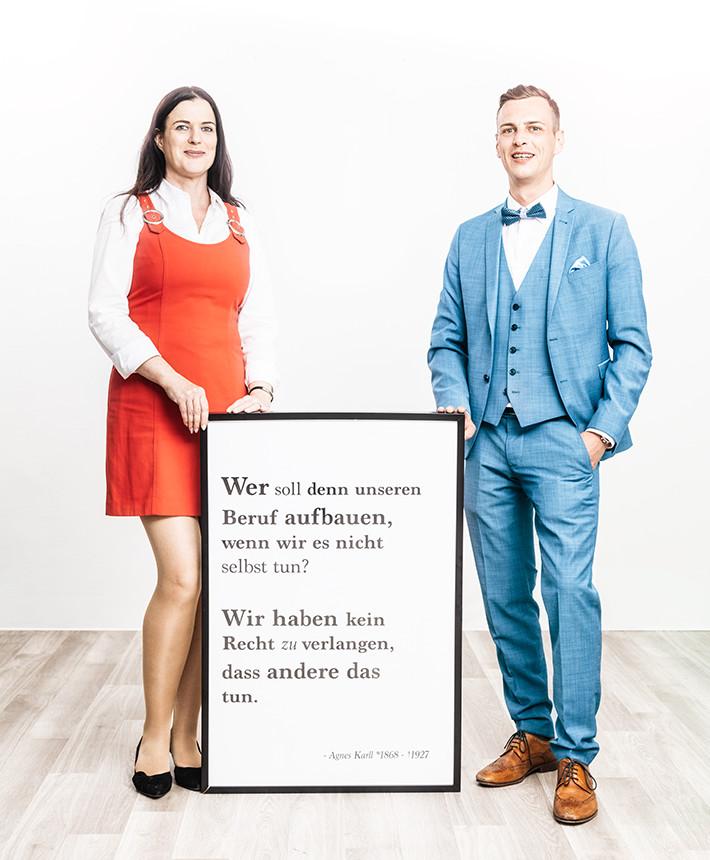 Die Werte von easycare mit Björn Geschind und Dana Mischke