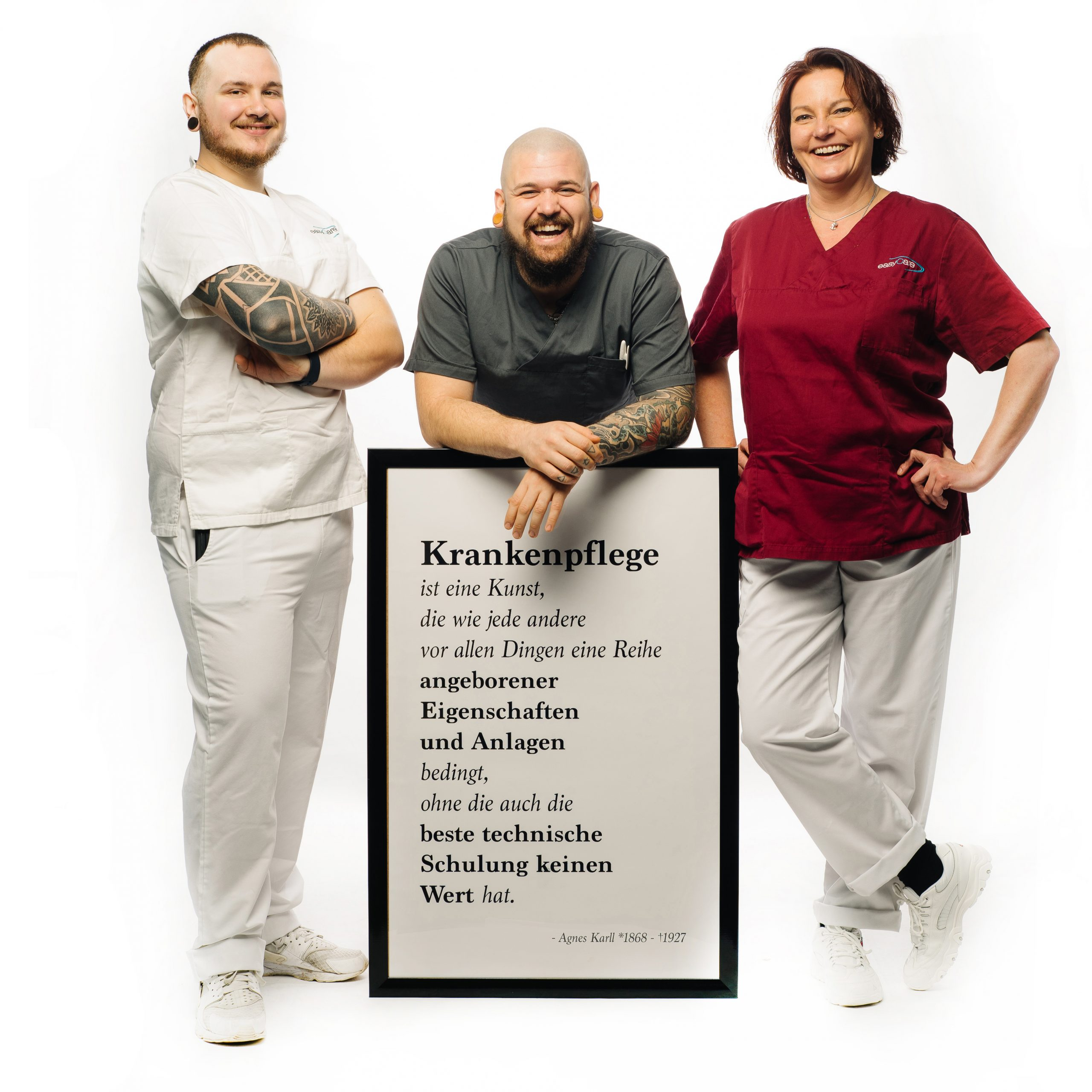 easyCare Pflegepersonal Krankenpflege Krankenpflegerin Krankenpfleger